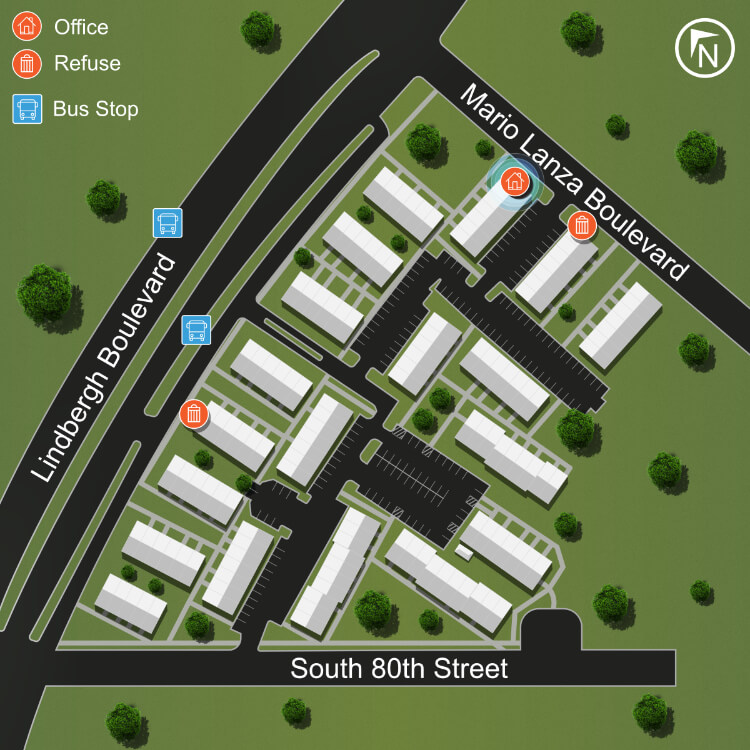 Site Map Villa