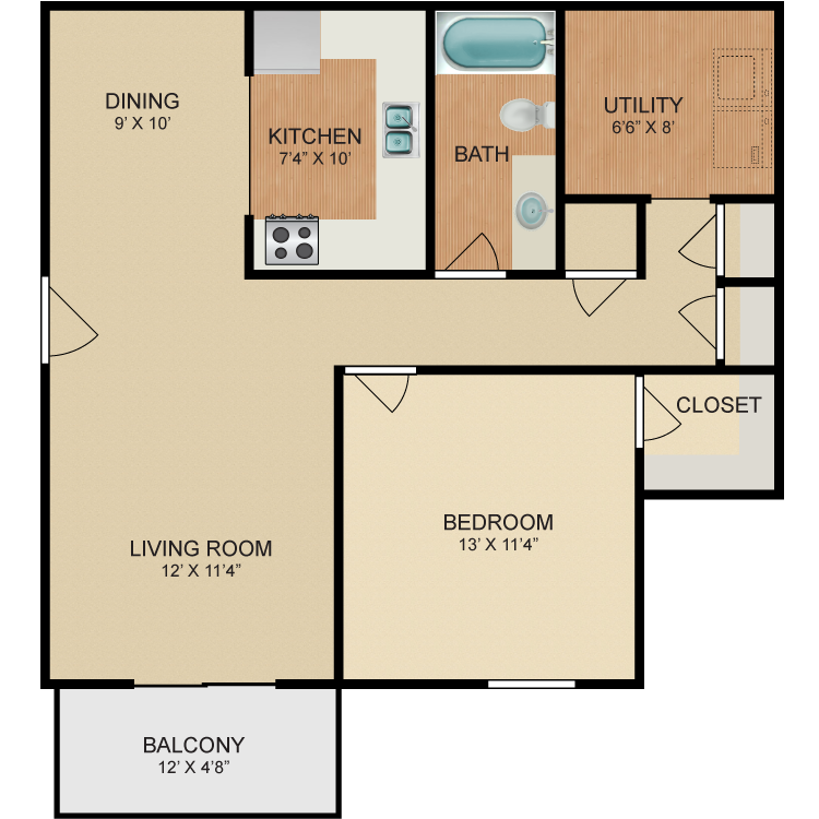 Floor plan image of Lotus