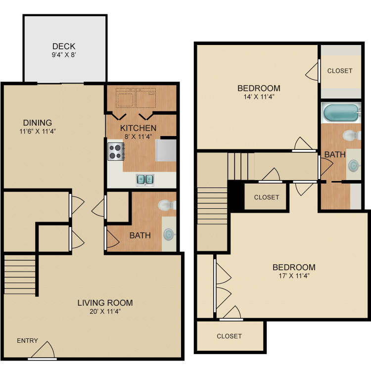 Floor plan image of Tulip