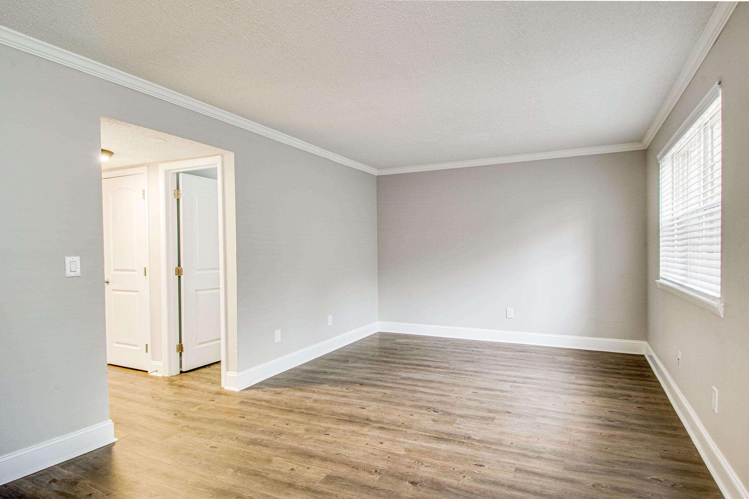 Two bedroom townhome living area
