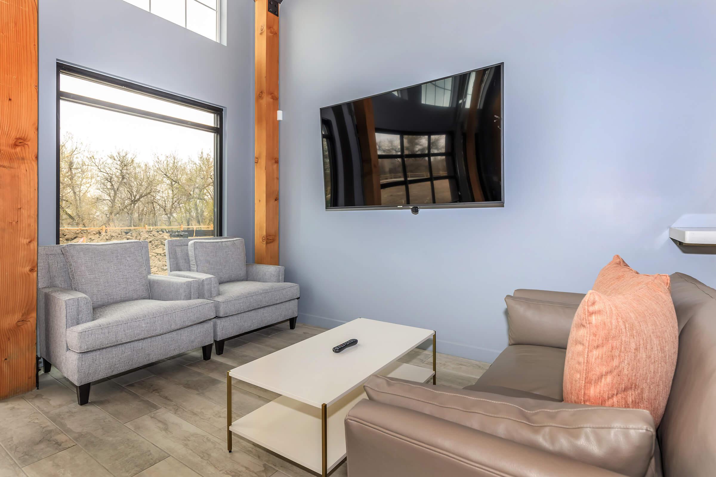Living Room at The Depot at Twenty Mile in Parker, Co