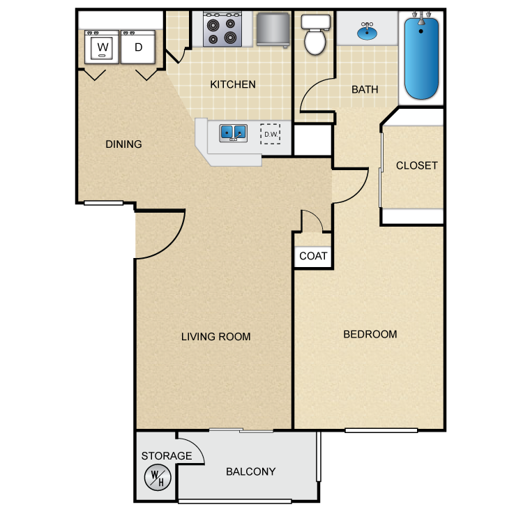 Floor plan image of The Crimson