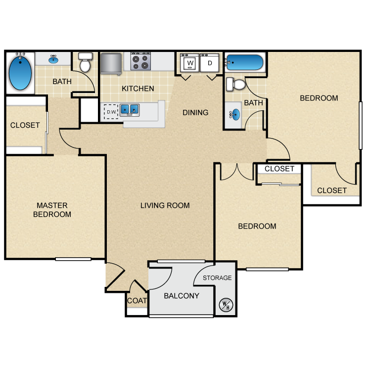 Floor plan image of The Cyan