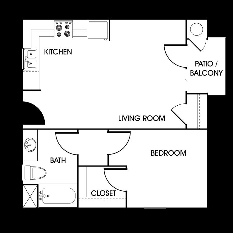 Floor plan image of Bayberry