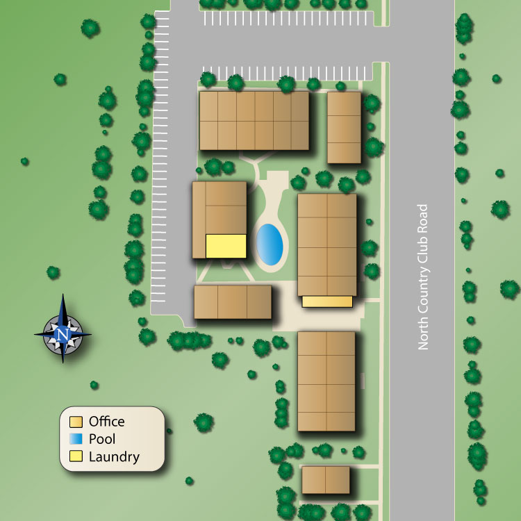 Country Club Terrace Sitemap