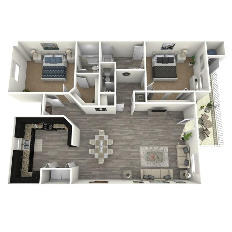 Floor plan image of Glen