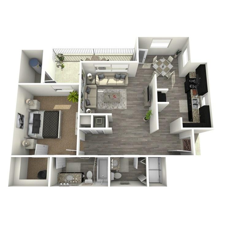 Floor plan image of Cameron