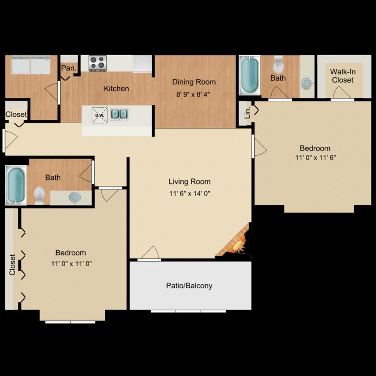 Floor plan image of Green Leaf