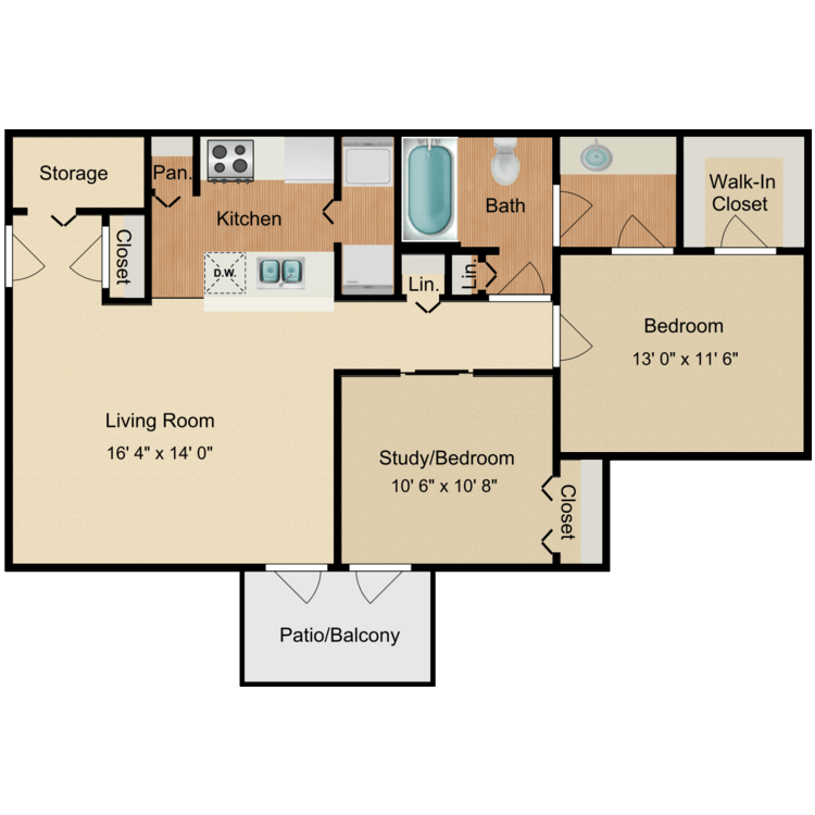 Floor plan image of Timber Trail