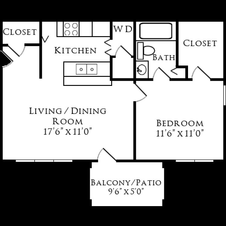 Floor plan image of Bentwood