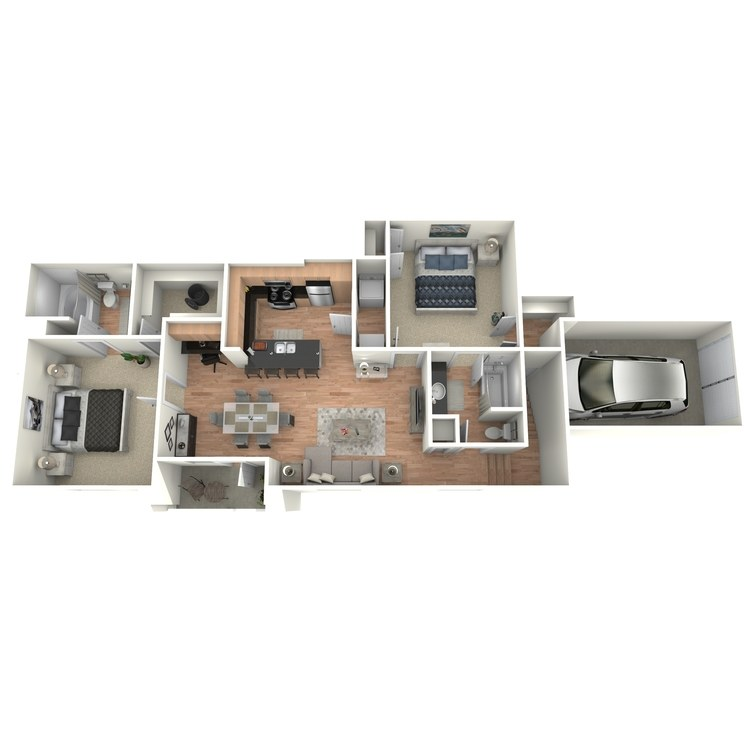 Floor plan image of H1