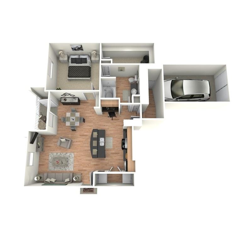 Floor plan image of F1