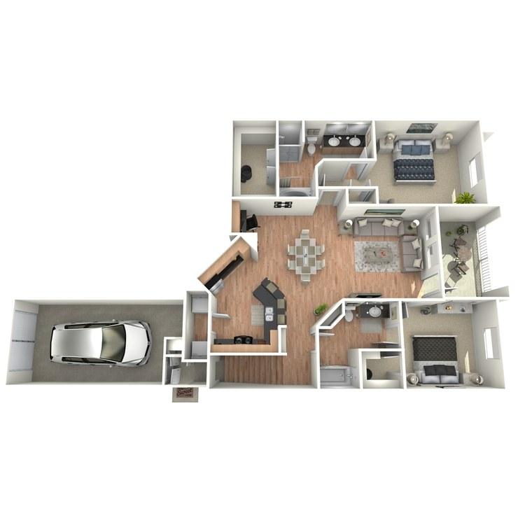 Floor plan image of K2