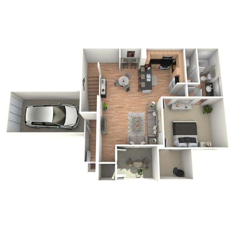 Floor plan image of C2/C4