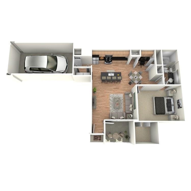 Floor plan image of C1/C3
