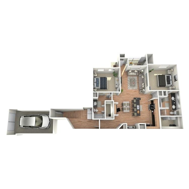 Floor plan image of J2