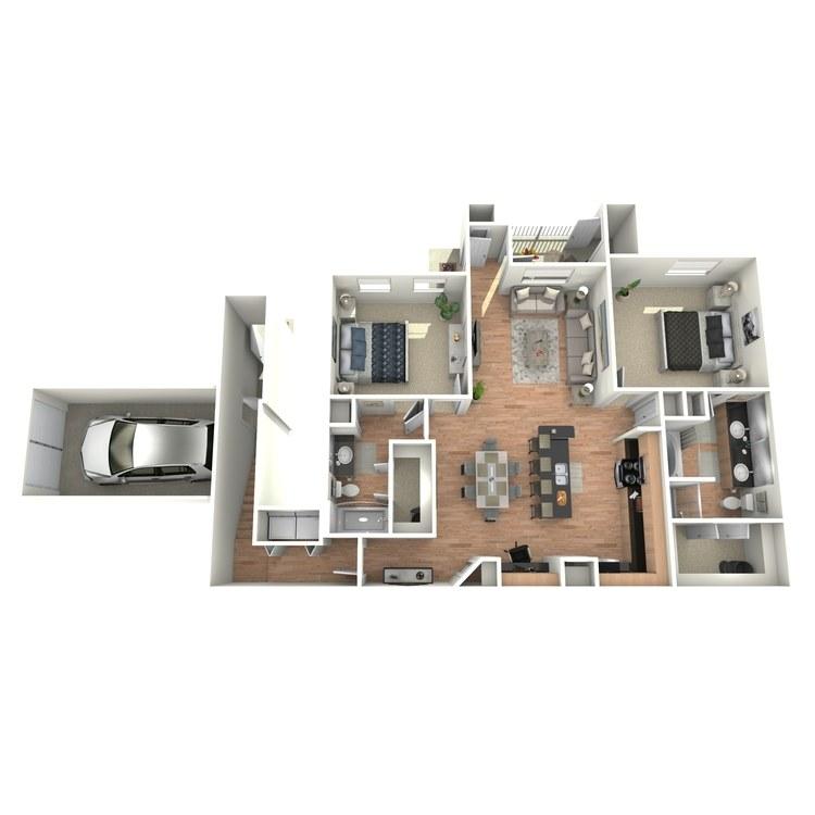 Floor plan image of J1/J3