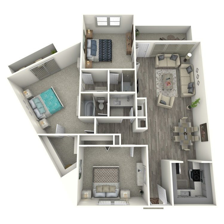 Floor plan image of 3x2F