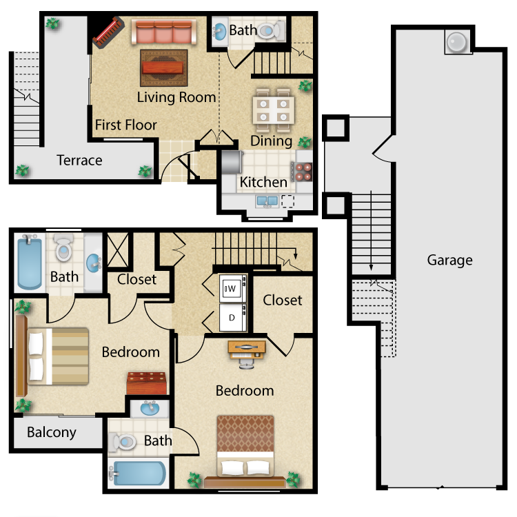 Floor plan image of Ibiza