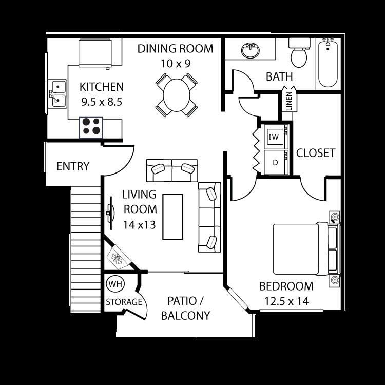 Floor plan image of Malibu