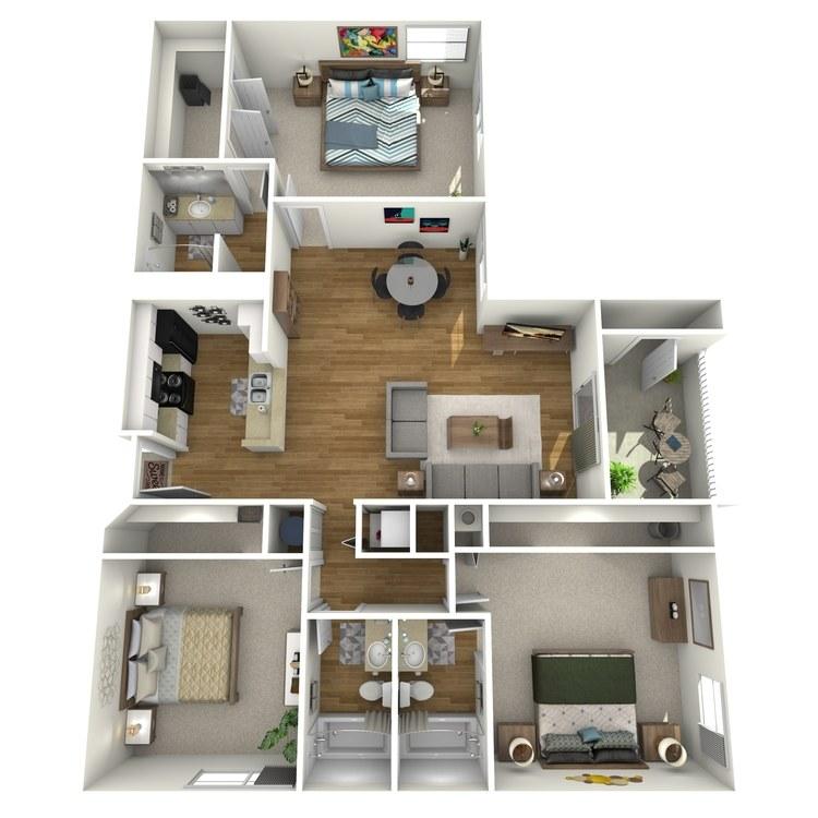 Floor plan image of Del Mar