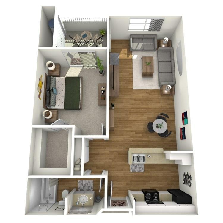 Floor plan image of La Jolla