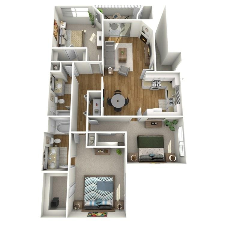 Floor plan image of Laguna
