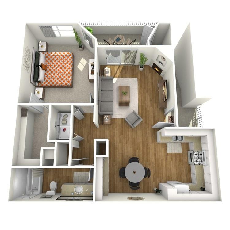 Floor plan image of Carmel