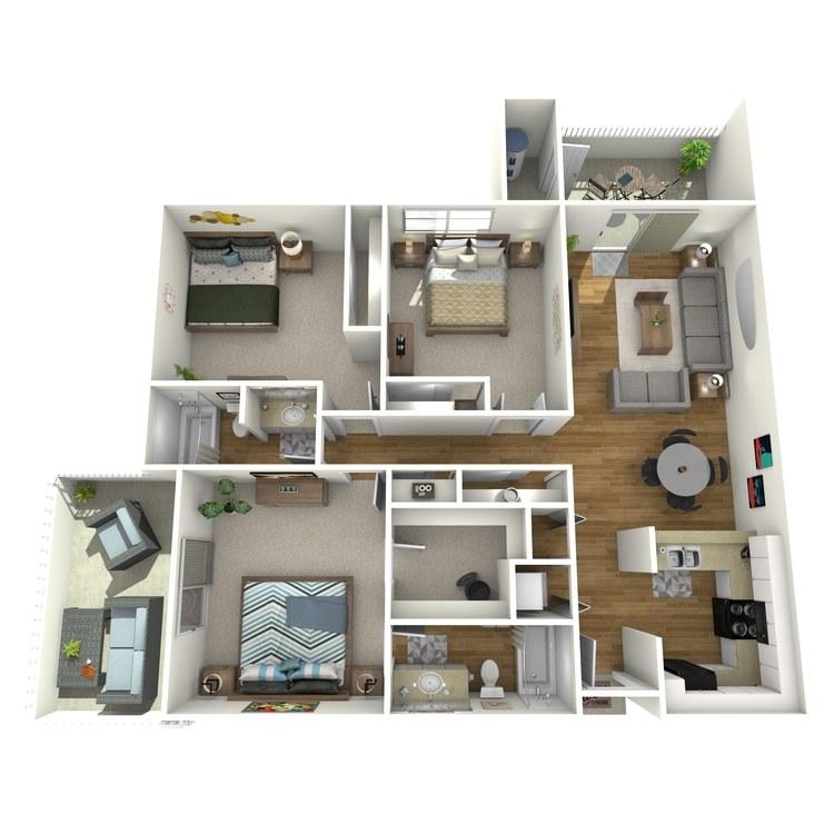 Floor plan image of El Encanto