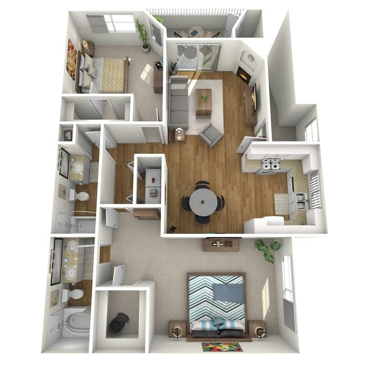 Floor plan image of Monterey