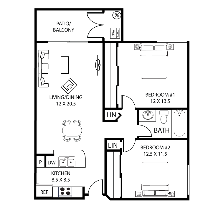 Floor plan image of San Simeon