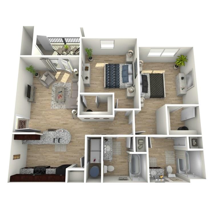 B2 floor plan image