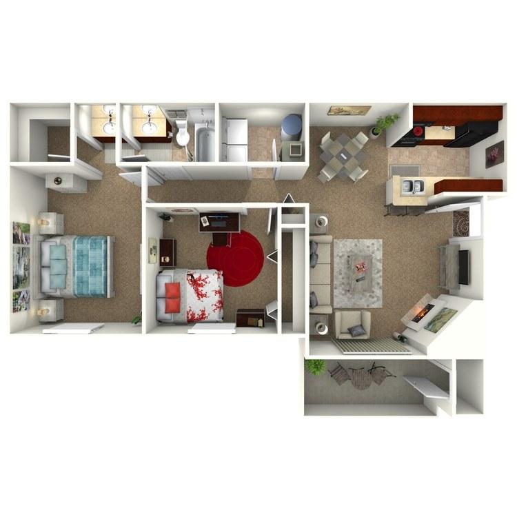 Floor plan image of The Harbor II