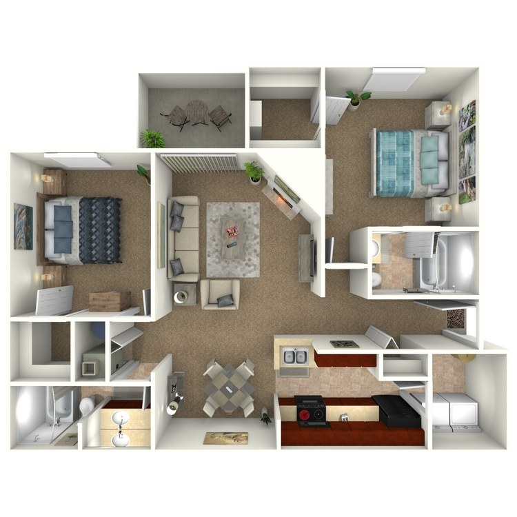 Floor plan image of The Sycamore