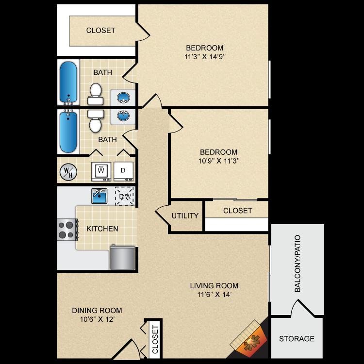 Floor plan image of Cobblestone