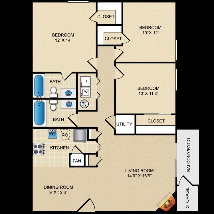 Floor plan image of Fieldstone