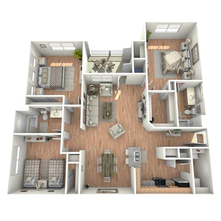 Floor plan image of Colorado