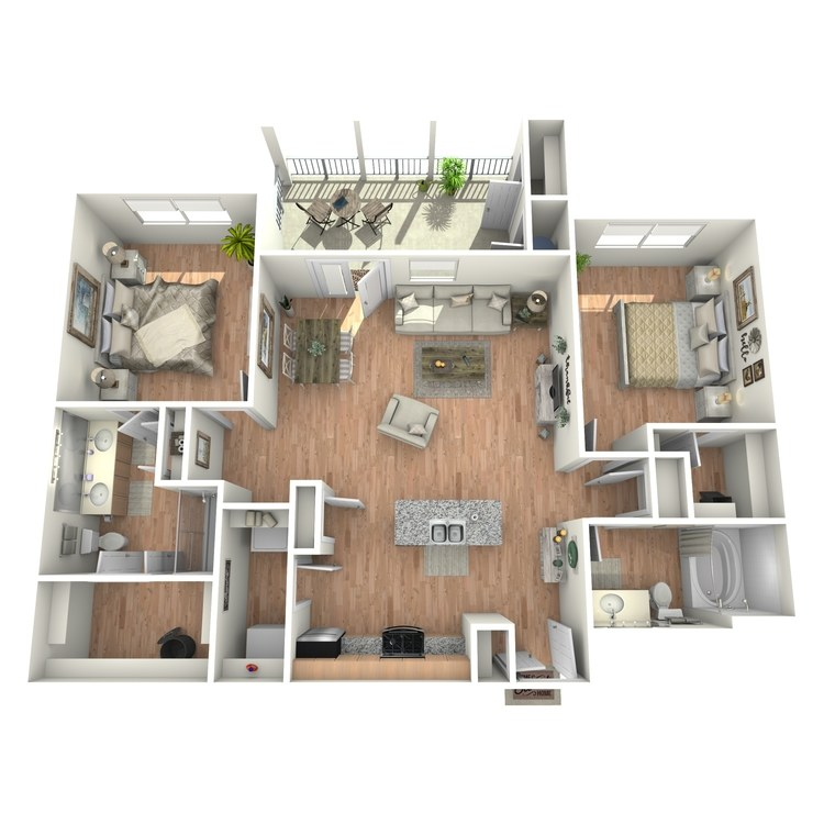 Floor plan image of Comal