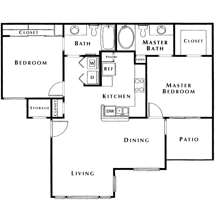 Floor plan image of Crest