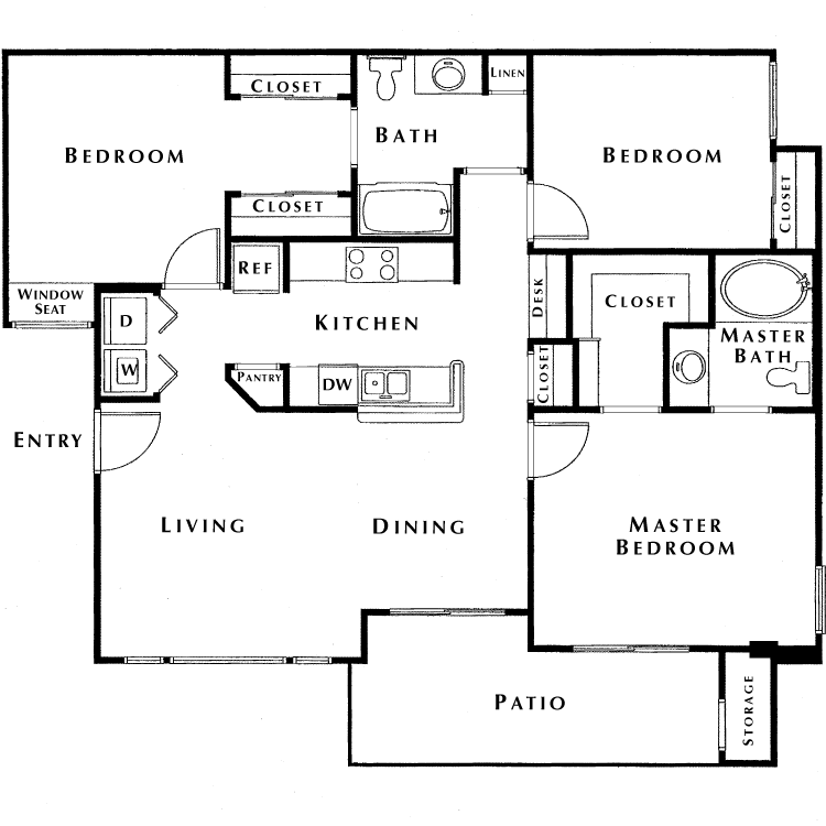Floor plan image of Peak