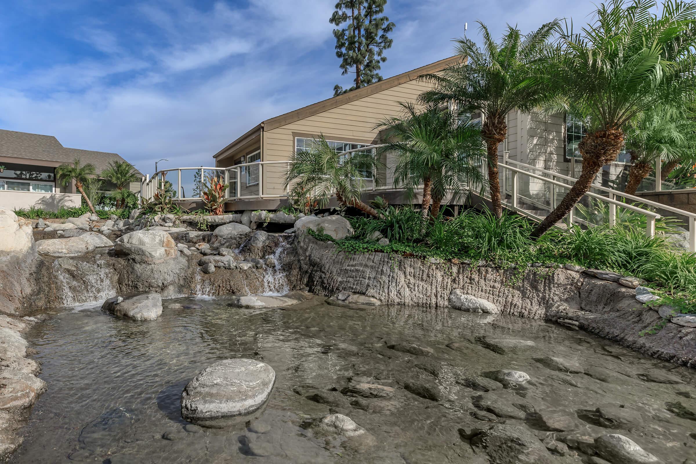 Landscaping at The Lake in Fullerton, CA