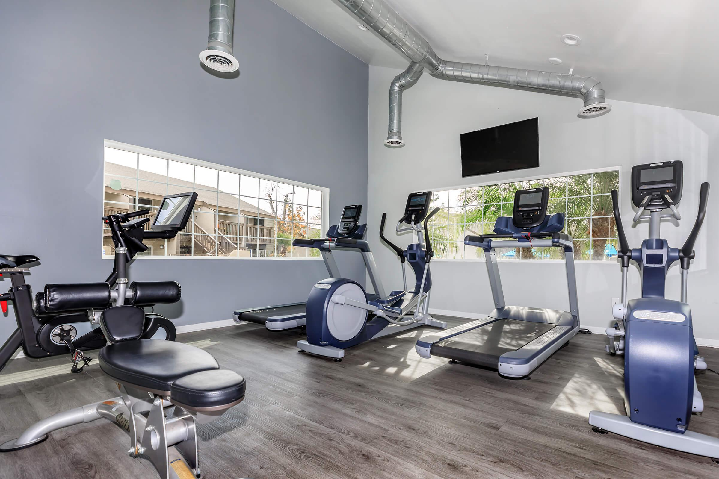 Fitness Center at The Lake in Fullerton, CA