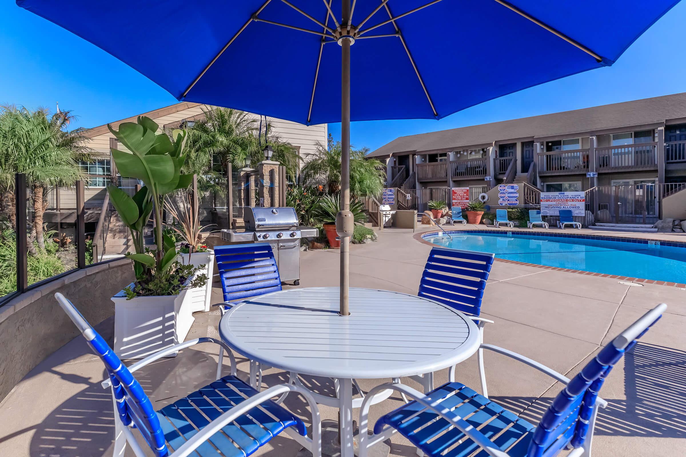 Pool at The Lake in Fullerton, CA