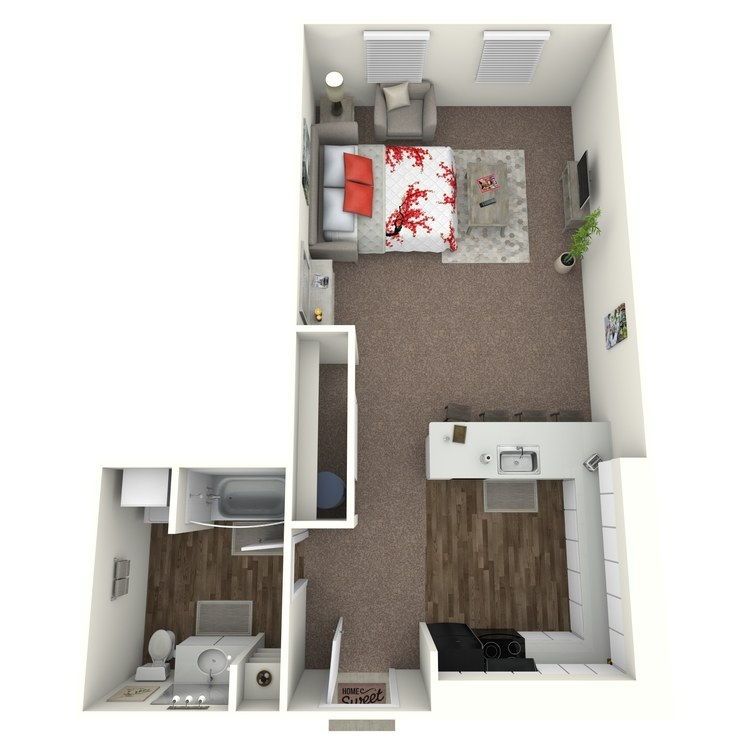 Floor plan image of Studio G