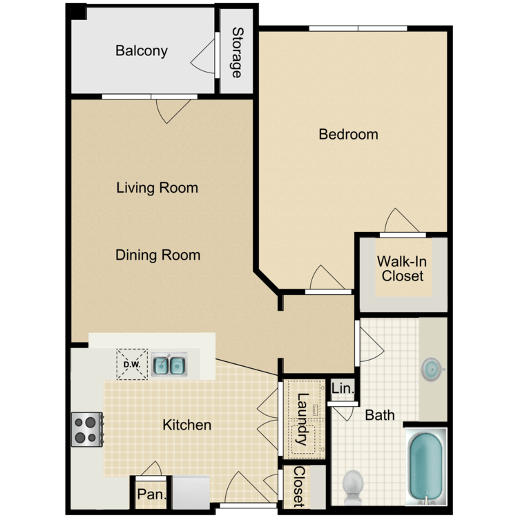 Floor plan image of The Elizabeth