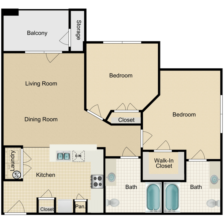 Floor plan image of The Anderson