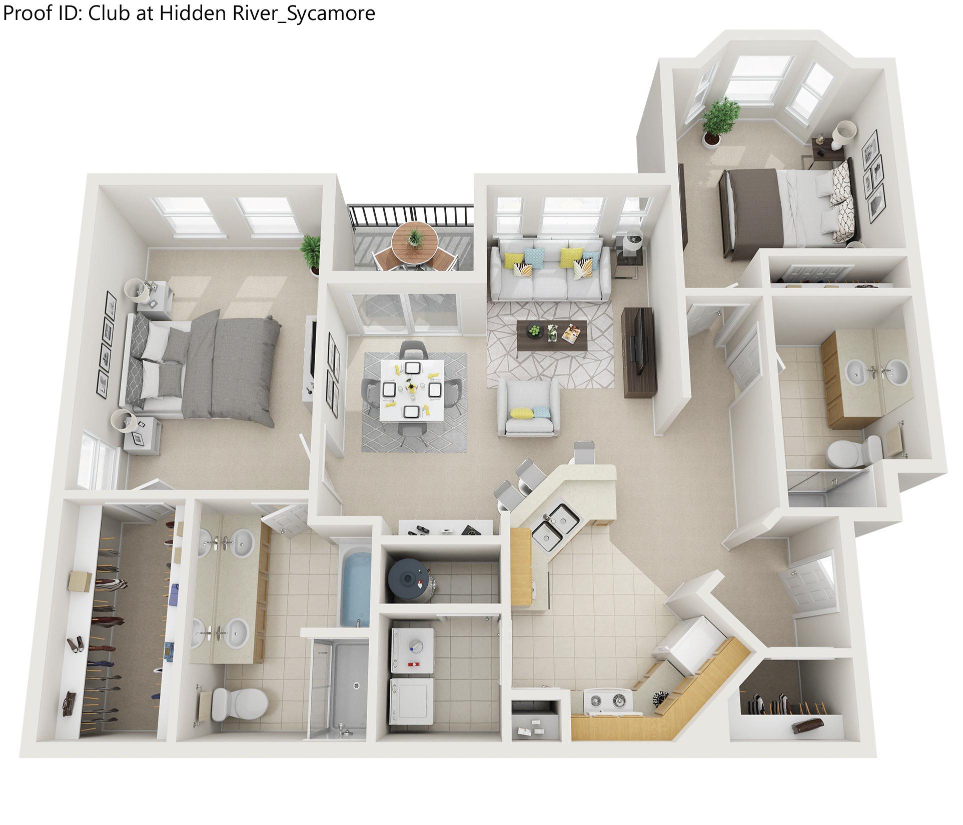 Floor plan image of Sycamore