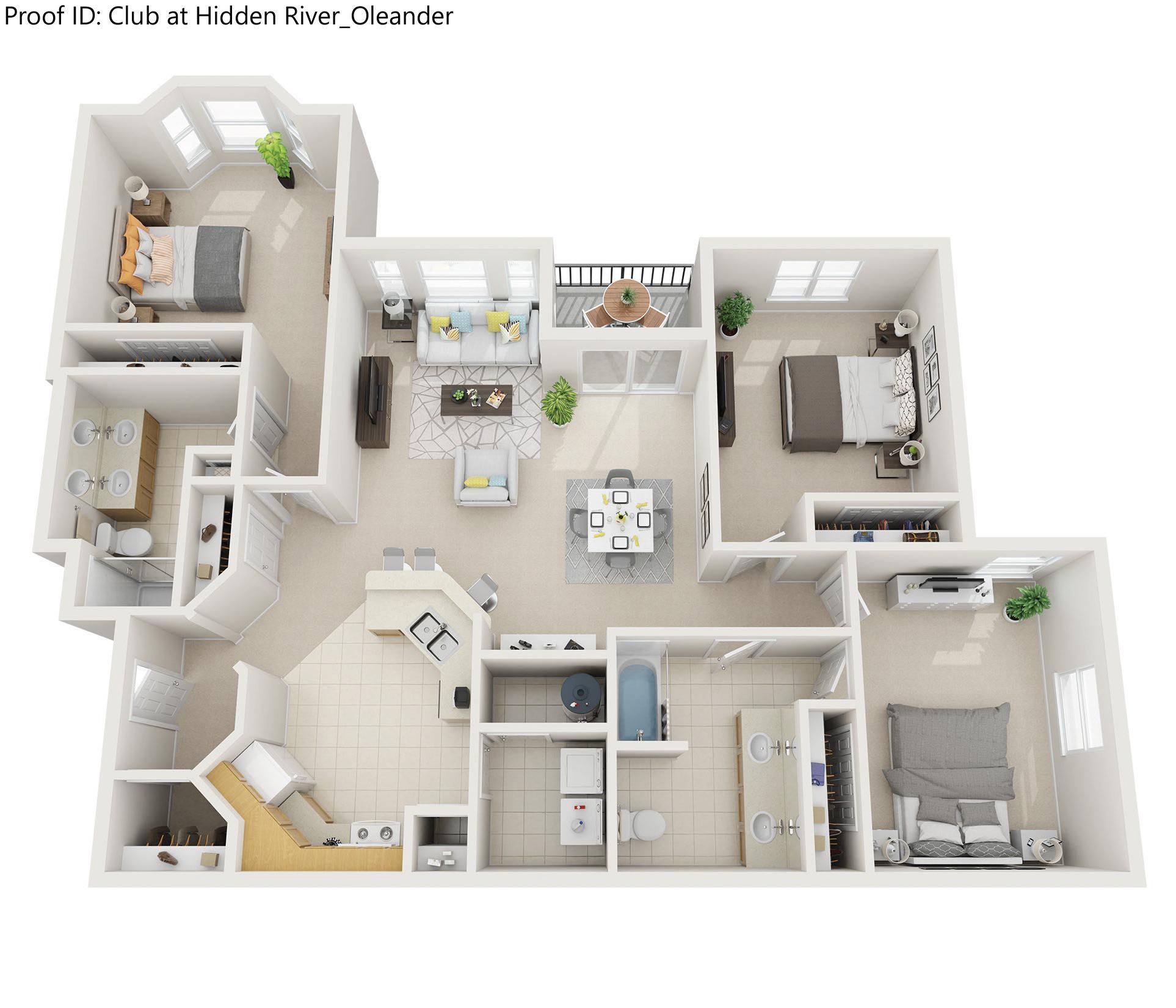 Floor plan image of Oleander