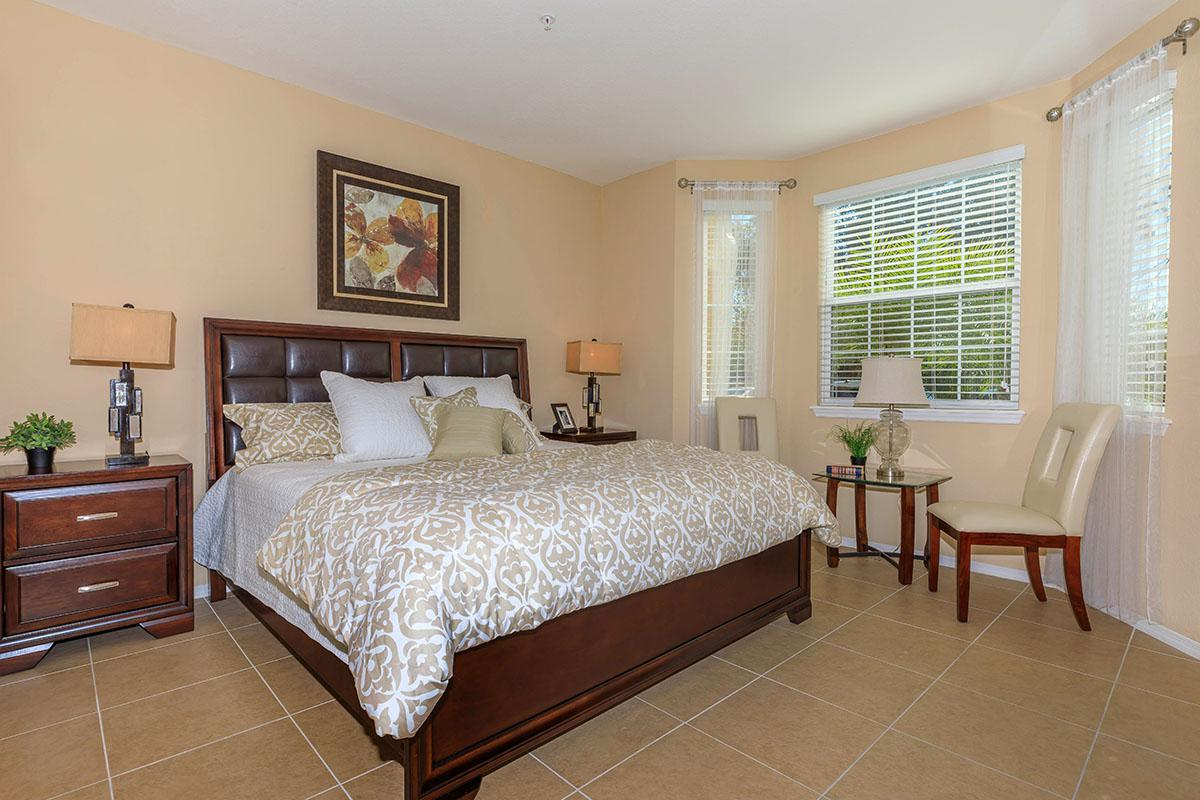 Oleander Cozy Bedroom Here At The Club At Hidden River in Tampa, Florida