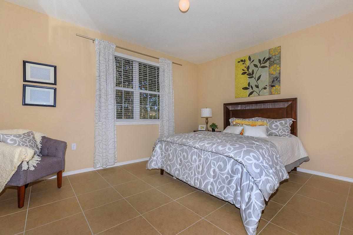 Oleander's Spacious Bedroom Here at The Club At Hidden River in Tampa, Florida